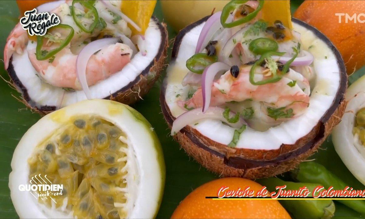 Juan régale : le ceviche de Juanito Colombiano