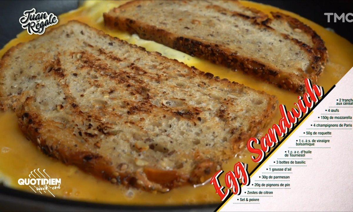Juan régale : l'egg sandwich des parents cool (même en télétravail)