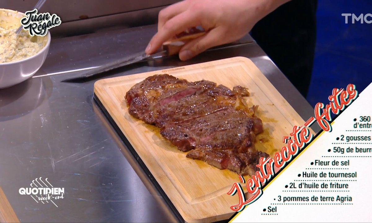 Juan régale : l'entrecôte-frites de François Hollande