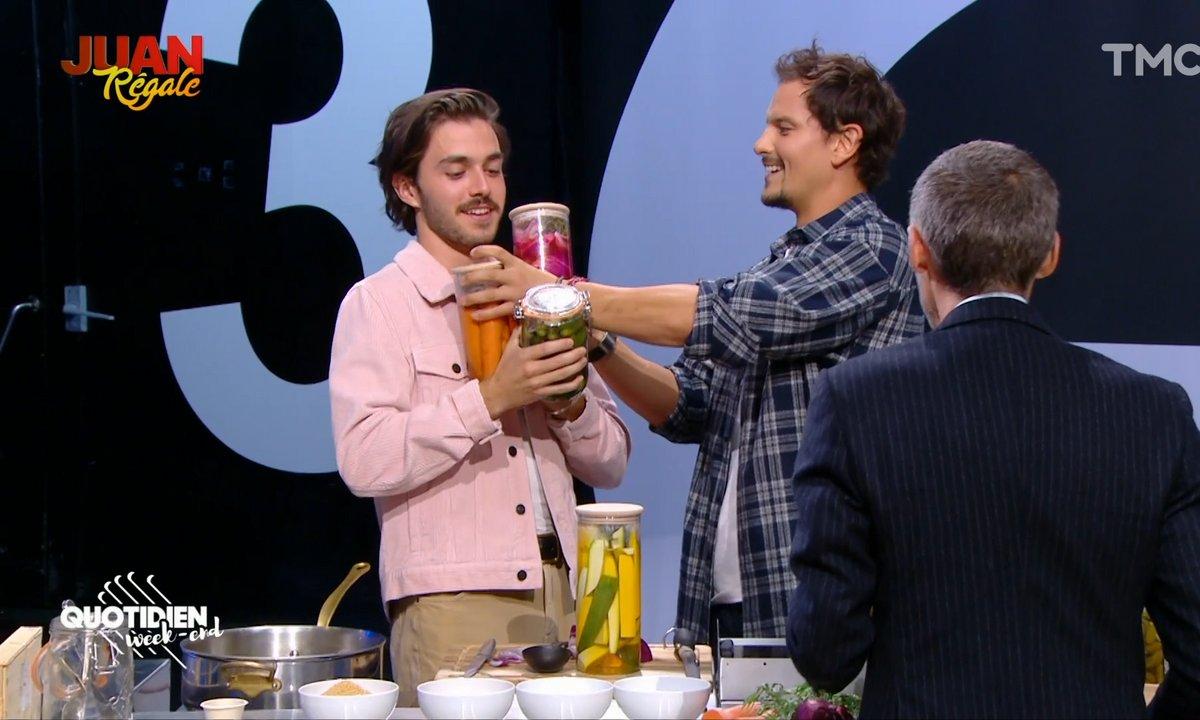 Juan régale : les pickles