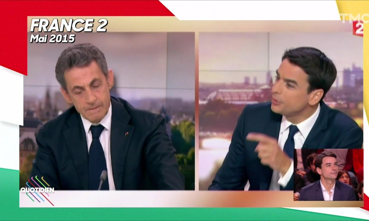"Julian Bugier évoque son ""gros stress"" avant l'interview de Nicolas Sarkozy"
