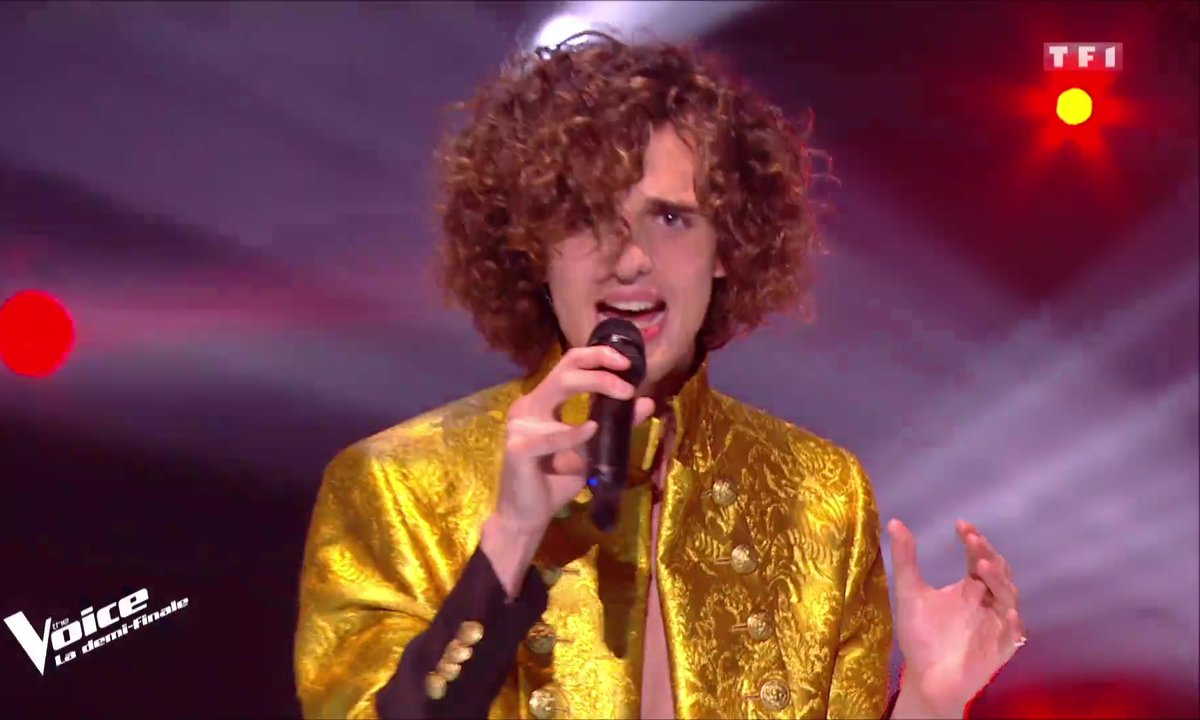 [Julien Clerc] – Léonard « I'm Still Standing » (Elton John) – Demi-finale-