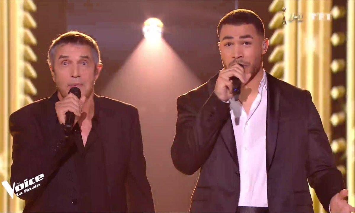 Julien Clerc et Pierre Danaë – « For Me Formidable » (Charles Aznavour) en duo pour la finale 2019
