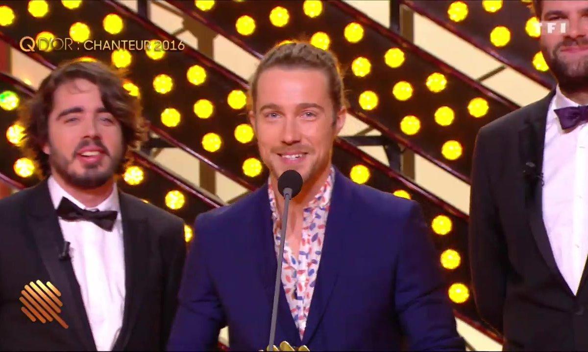 Julien Doré, Q d'Or du chanteur de l'année 2016