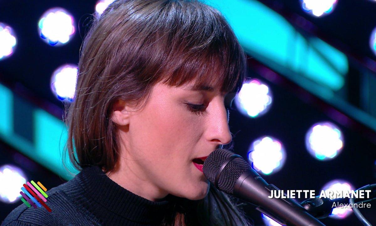 """Juliette Armanet - """"Alexandre"""" sur la scène de Quotidien (exclu web)"""