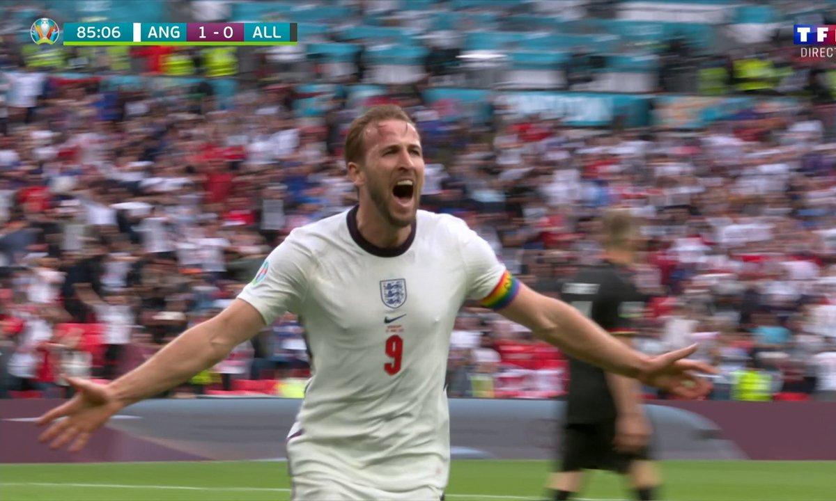 Angleterre - Allemagne (2 - 0) : Harry Kane débloque enfin son compteur but !