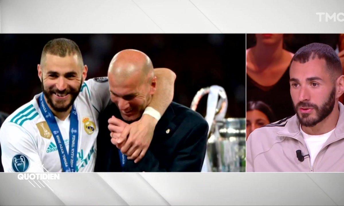 """Karim Benzema : """"Avec Zidane, on a une relation très forte, il est comme un grand frère"""""""