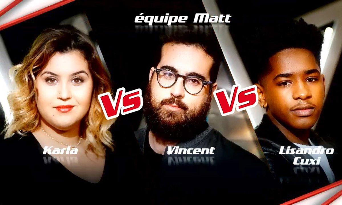 Karla VS Vincent Vella VS Lisandro Cuxi- Epreuve Ultime (Saison 6)