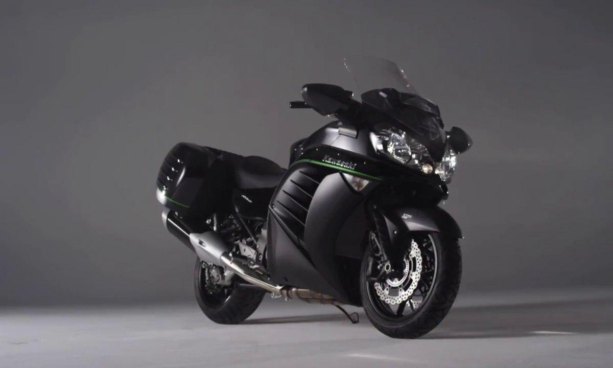 Kawasaki 1400 GTR 2015 : présentation officielle en vidéo