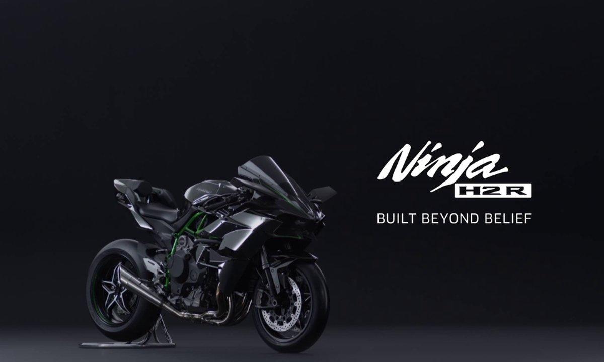 Nouvelle Kawasaki Ninja H2R 2015 : présentation officielle