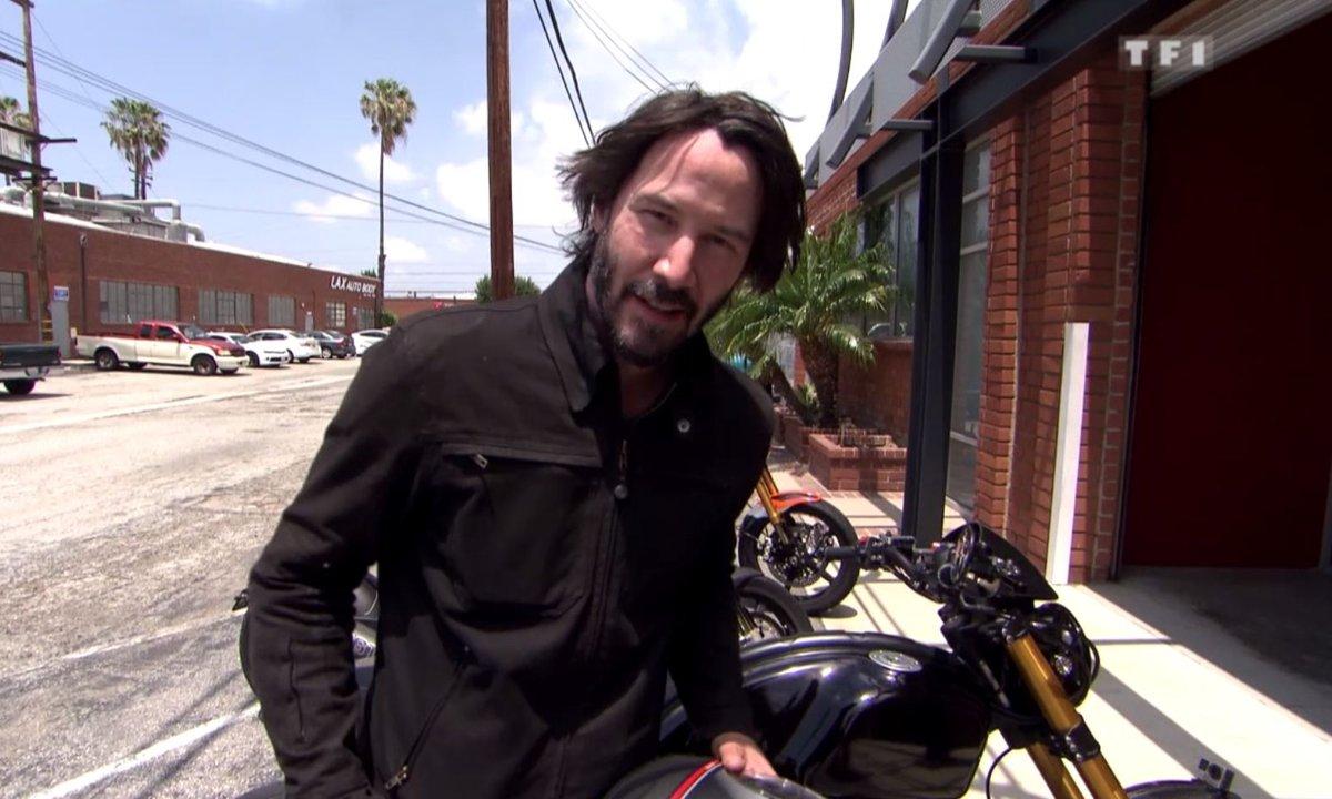Teaser : Keanu Reeves et ses motos !
