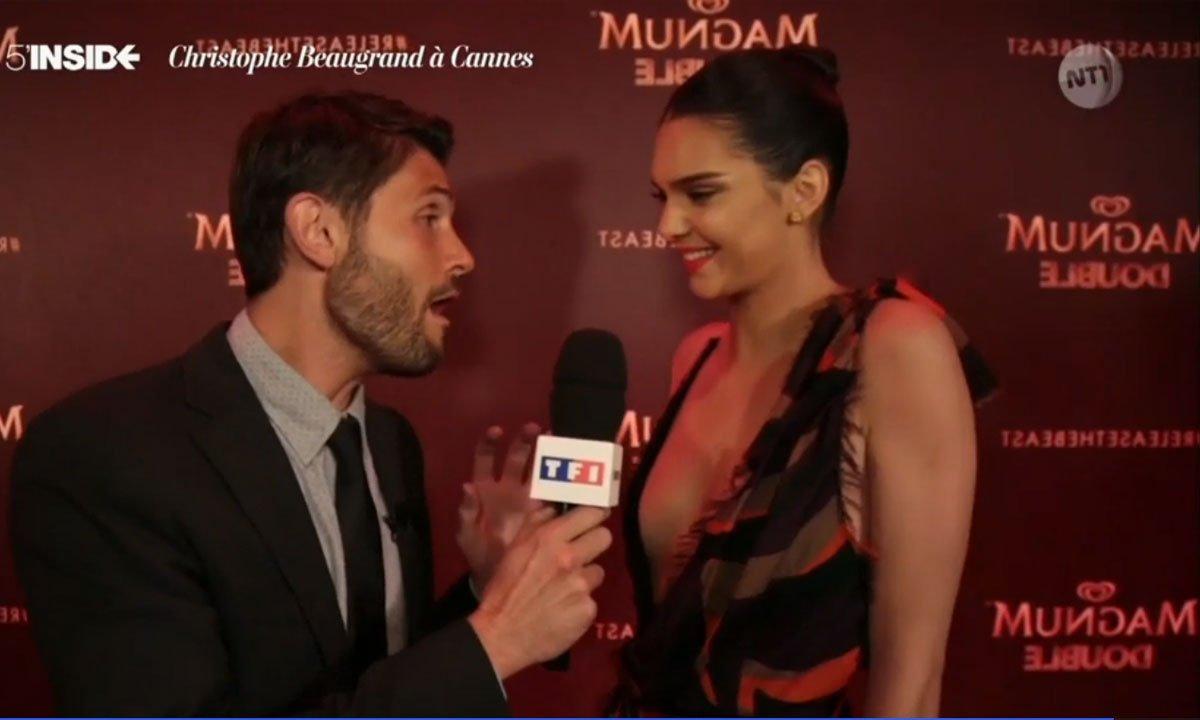 5' inside à Cannes du 16 mai 2016 - Kendall Jenner lache la bête