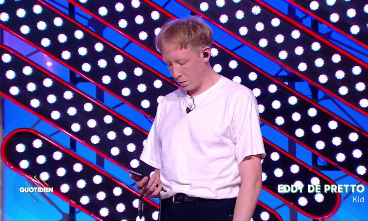 """Eddy De Pretto - """"Kid"""" en live dans Quotidien (Exclu Web)"""
