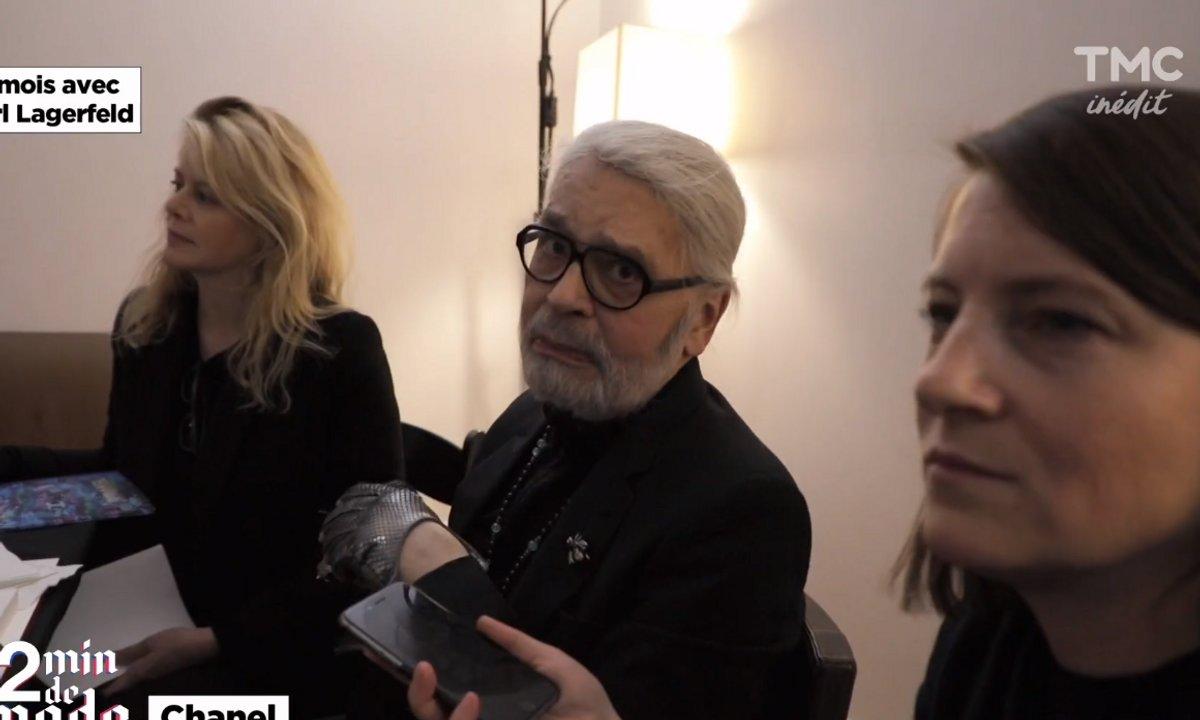 EXTRAIT - Les 6 derniers mois de Karl Lagerfeld : de New-York à Paris, jusqu'à sa toute dernière collection