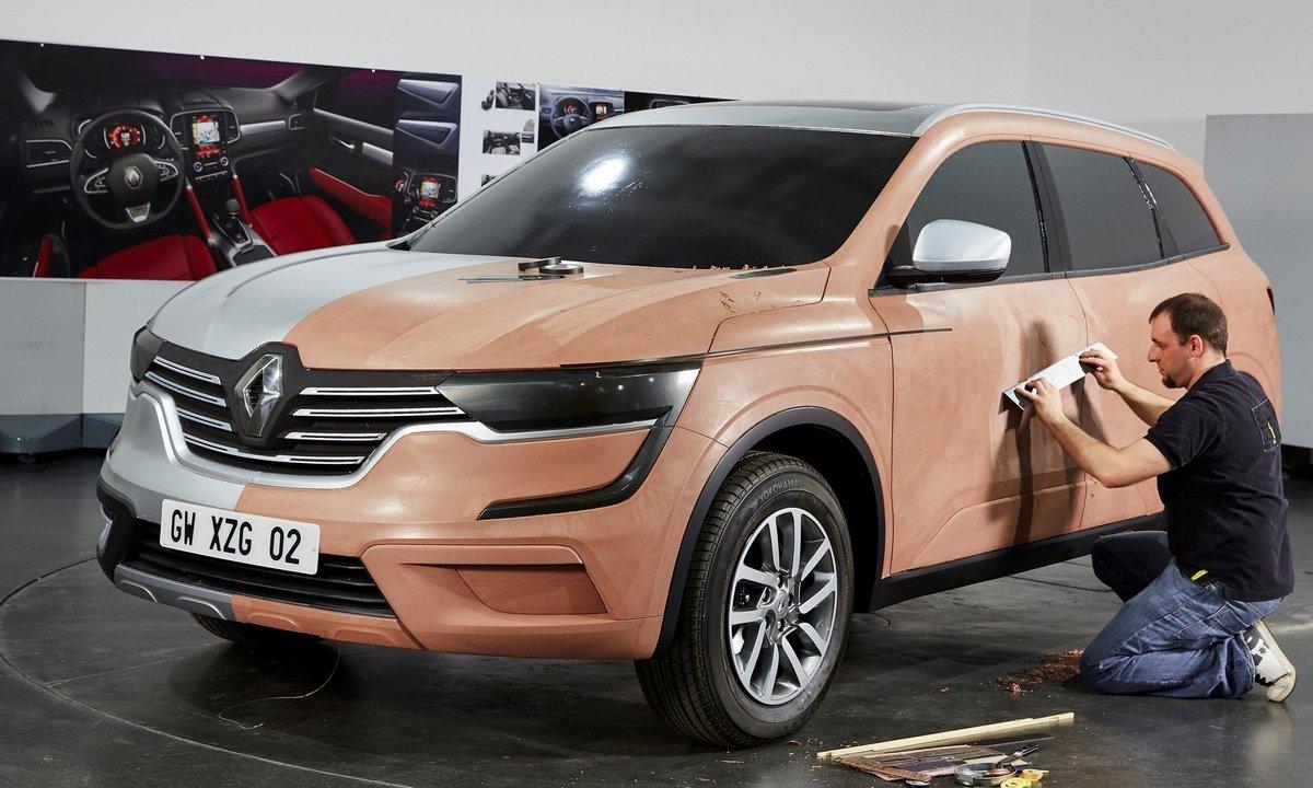 Renault Koleos, genèse du design
