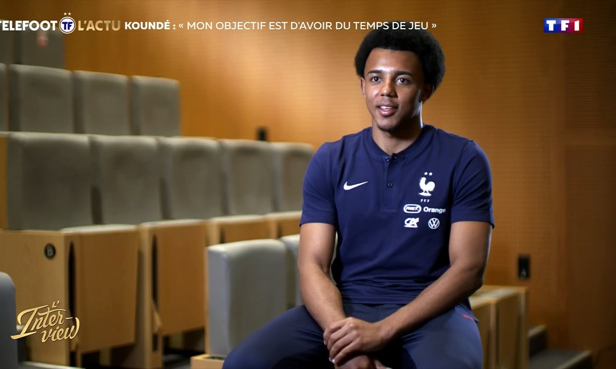"""L'interview - Koundé : """"Mon objectif est d'avoir du temps de jeu"""""""