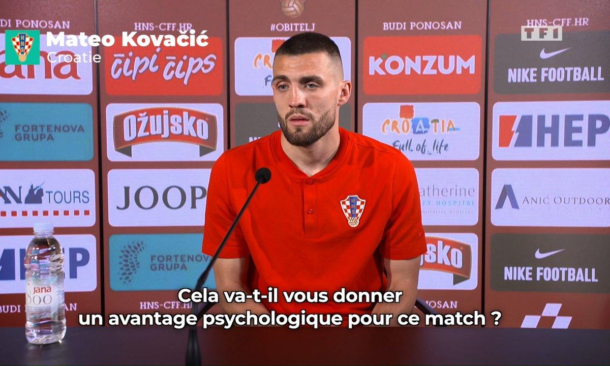 Aucun avantage pour la Croatie selon Mateo Kovacic