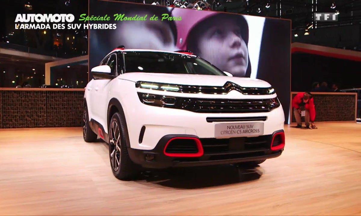 Mondial de l'Auto : L'armada des SUV hybrides