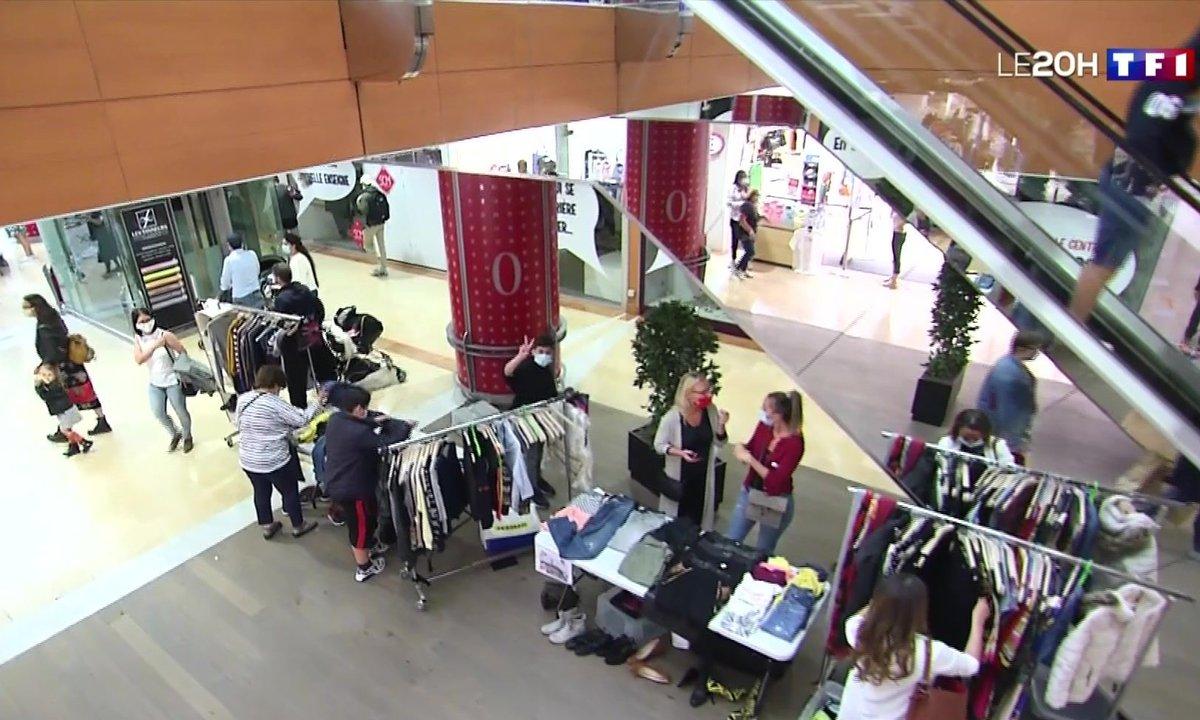 L'esprit de la braderie à Lille malgré tout