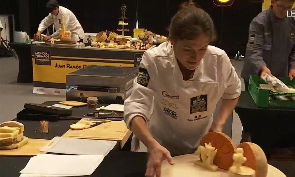 L'Hexagone a brillé au championnat du monde du meilleur fromager à Tours