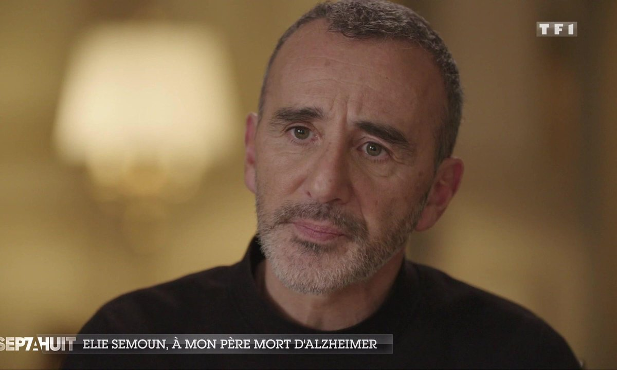 L'hommage d'Elie Semoun à son père mort d'Alzheimer