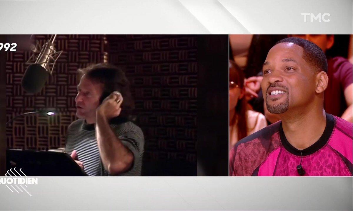 L'hommage de Will Smith à Robin Williams, 1er à avoir incarné le génie d'Aladdin