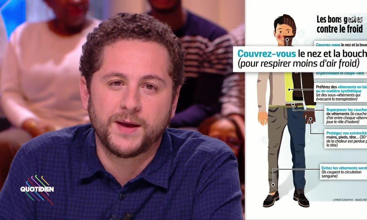 L'image du jour d'Azzeddine Ahmed-Chaouch : les bons conseils du Parisien pour lutter contre le froid