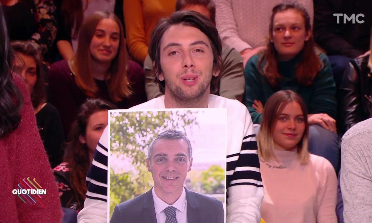 L'image du jour d'Etienne Carbonnier : Jean-François Cesarini, député du Vaucluse ET amateur de rap