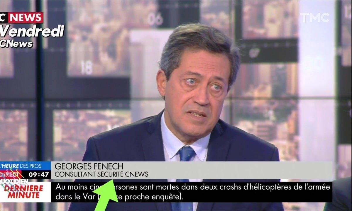 L'image du jour de Julien Bellver : Georges Fenech, l'homme à tout faire de CNEWS