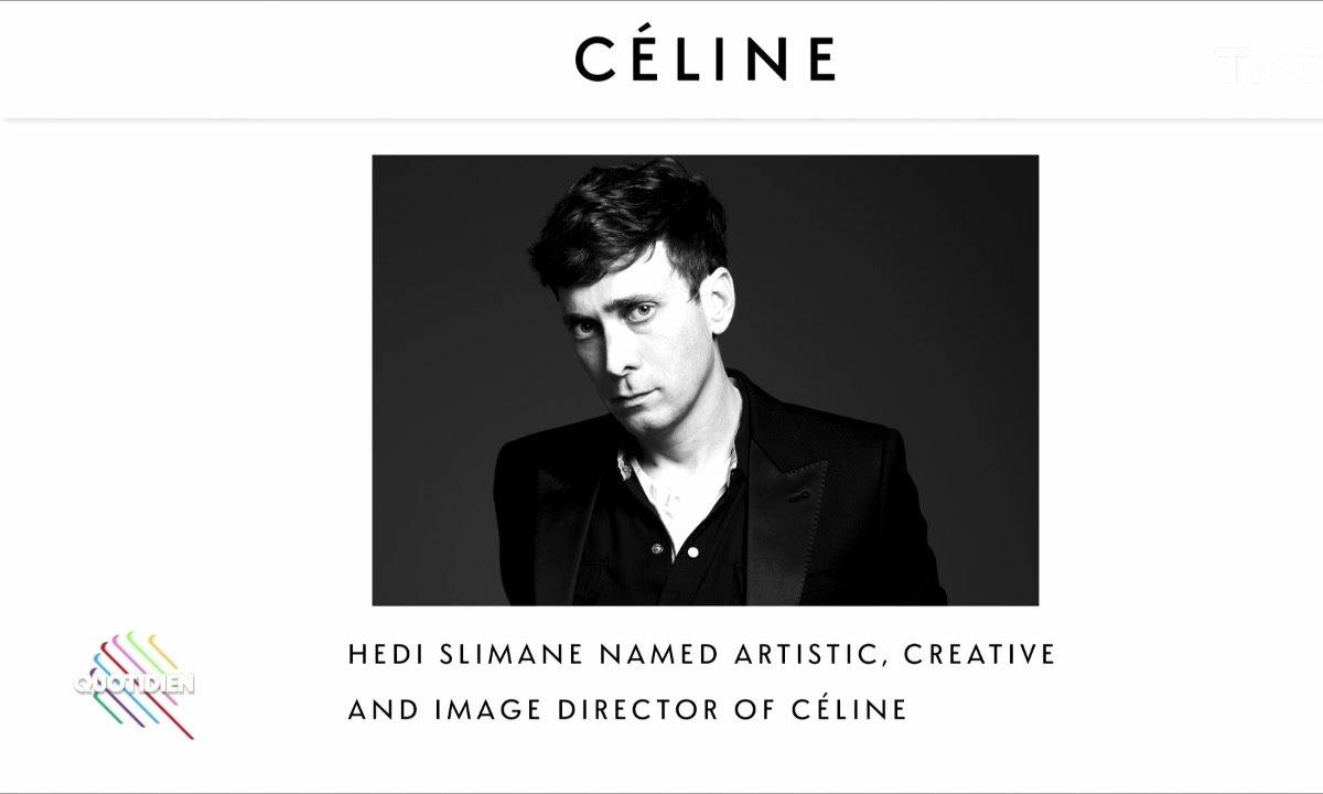 L'image du jour de Julien Bellver : Hedi Slimane arrive chez Céline