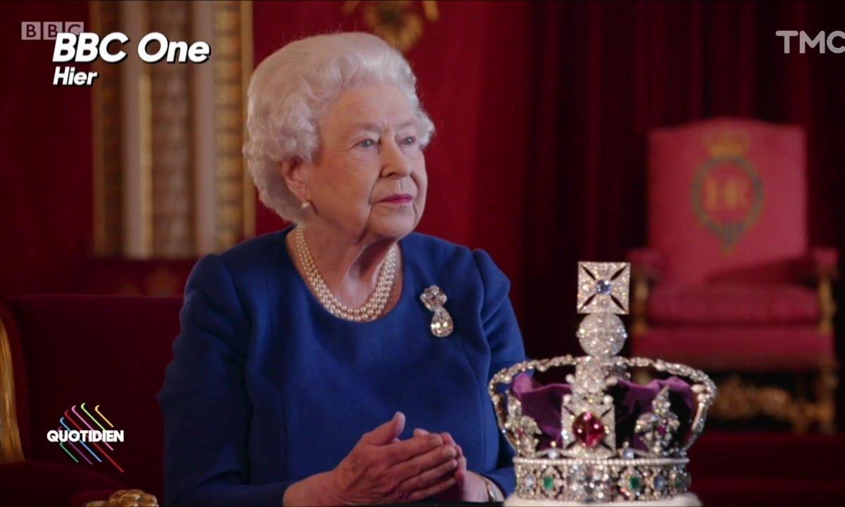 L'image du jour de Julien Bellver : La Reine Elisabeth II a parlé