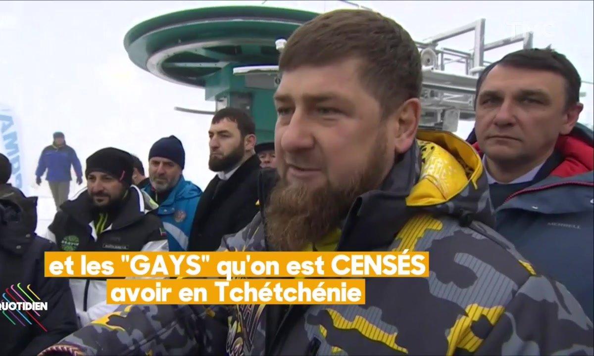 L'image du jour de Lilia Hassaine : La nouvelle sortie de Kadyrov sur les homosexuels