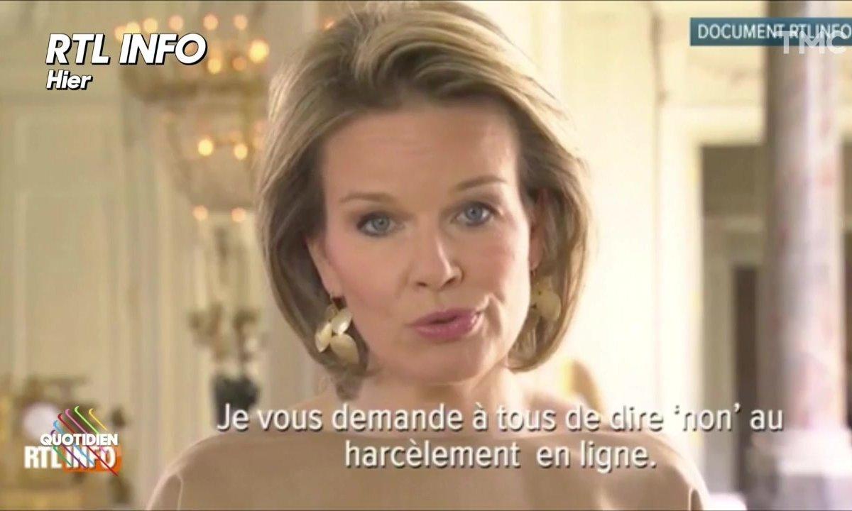 L'image du jour de Yann Barthès : charisme exceptionnel pour la reine des Belges