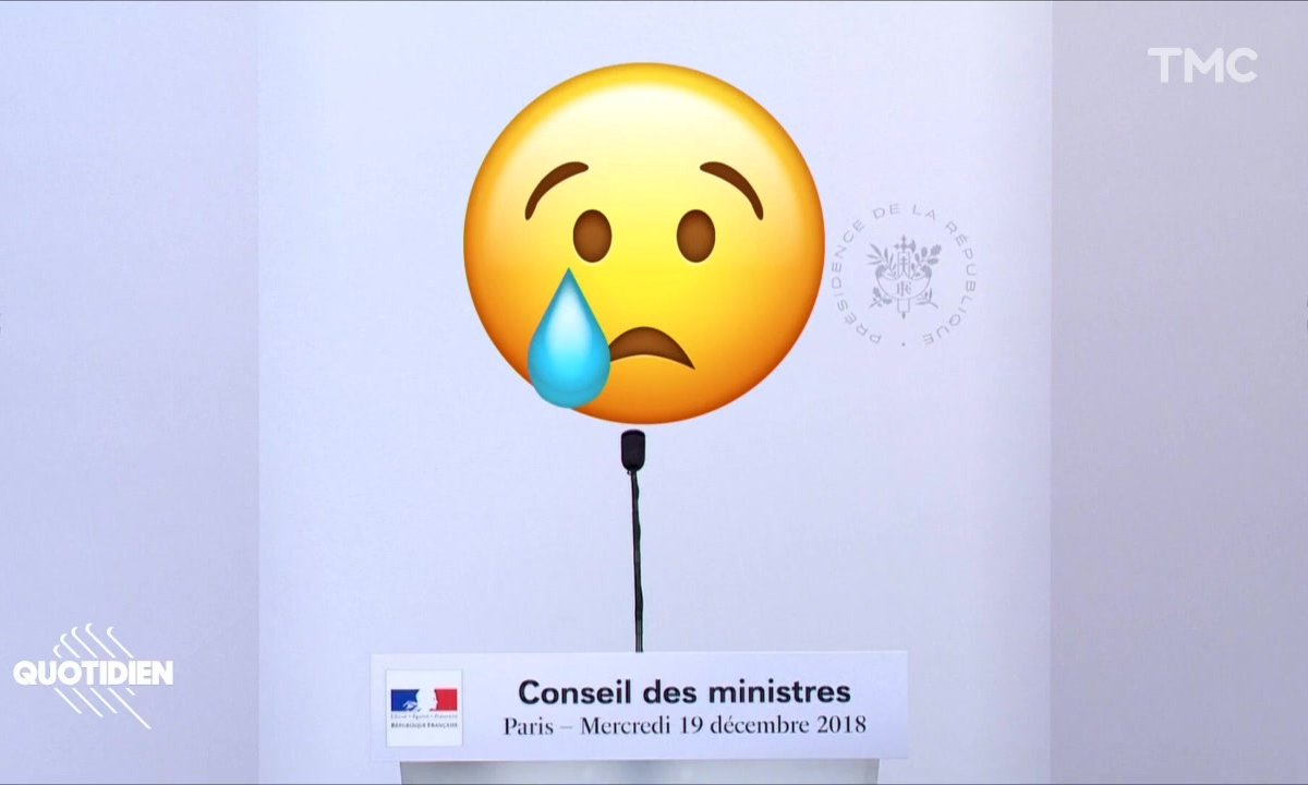 L'instant émotion du dernier conseil des ministres