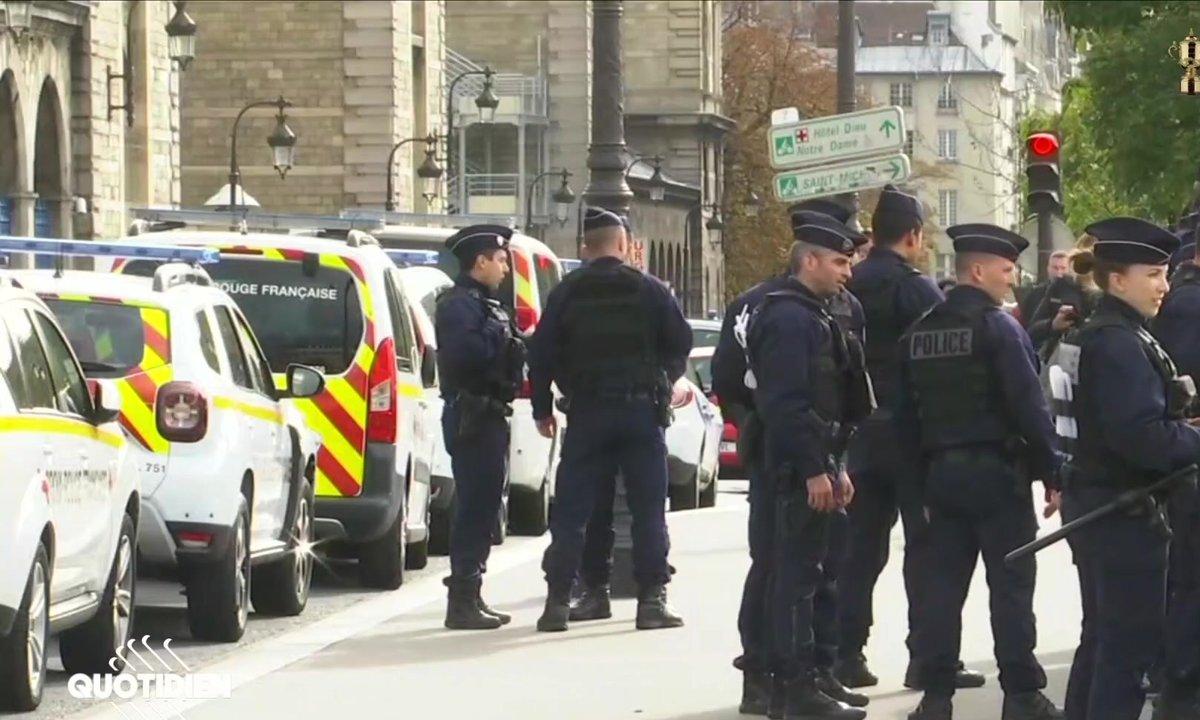 Ce que l'on sait de l'attaque au couteau à la Préfecture de police de Paris