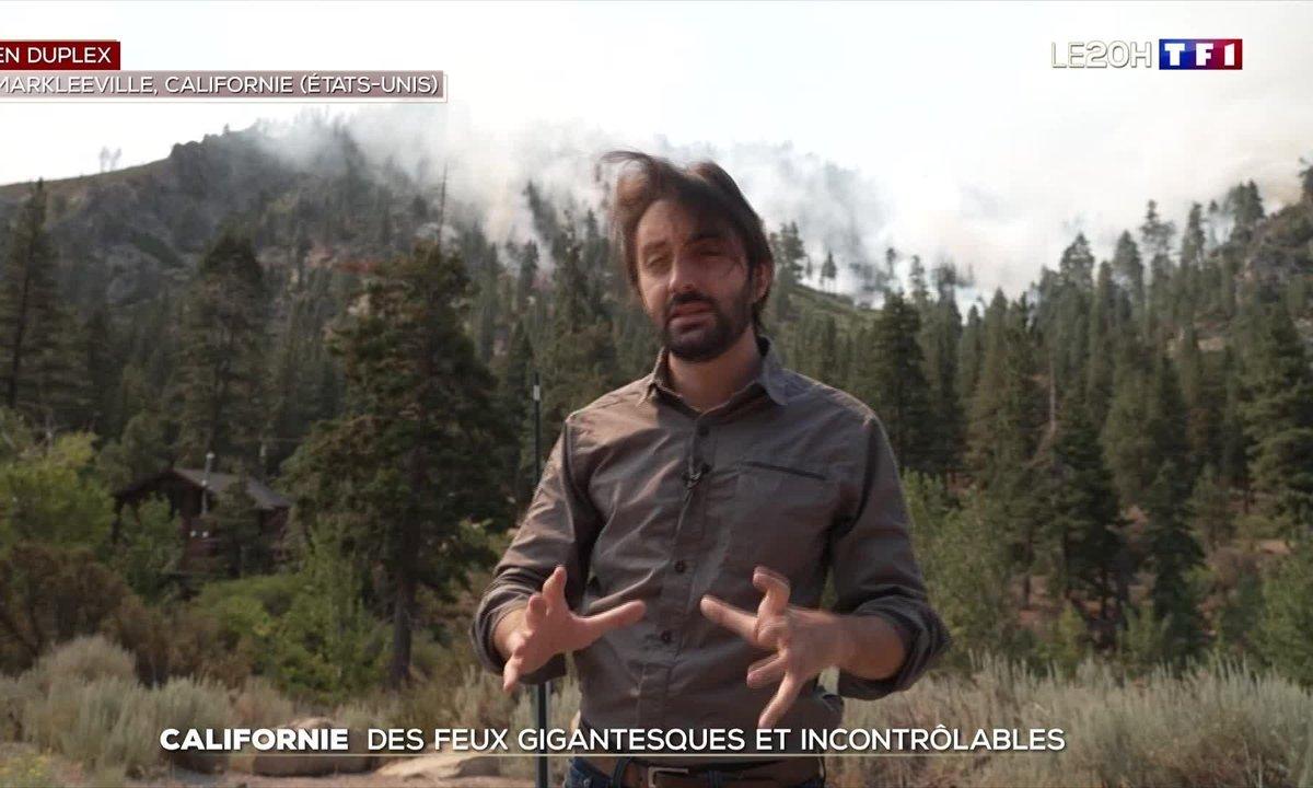 L'Ouest des Etats-Unis ravagé par de nouveaux incendies