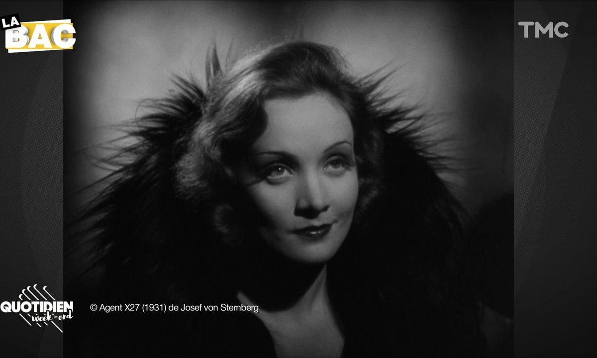 La BAC : Josef Von Sternberg et Marlene Dietrich, duo iconique