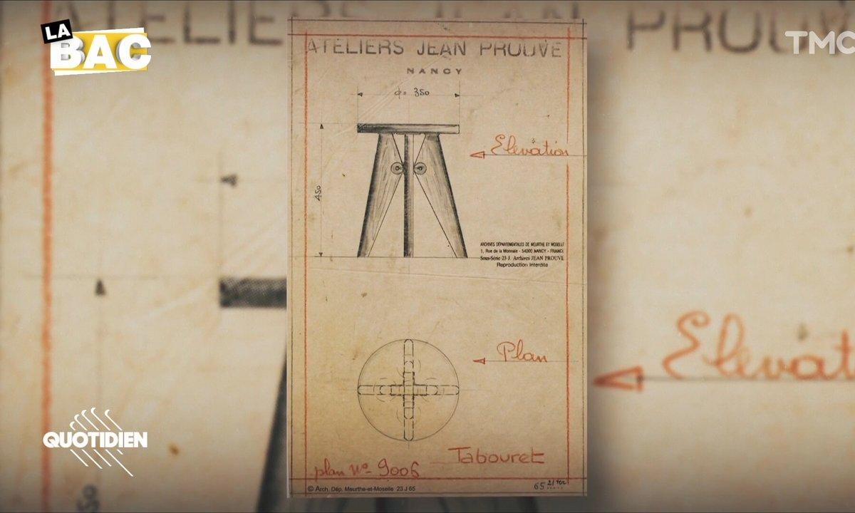 La BAC : le tabouret Solvay de Jean Prouvé réinventé