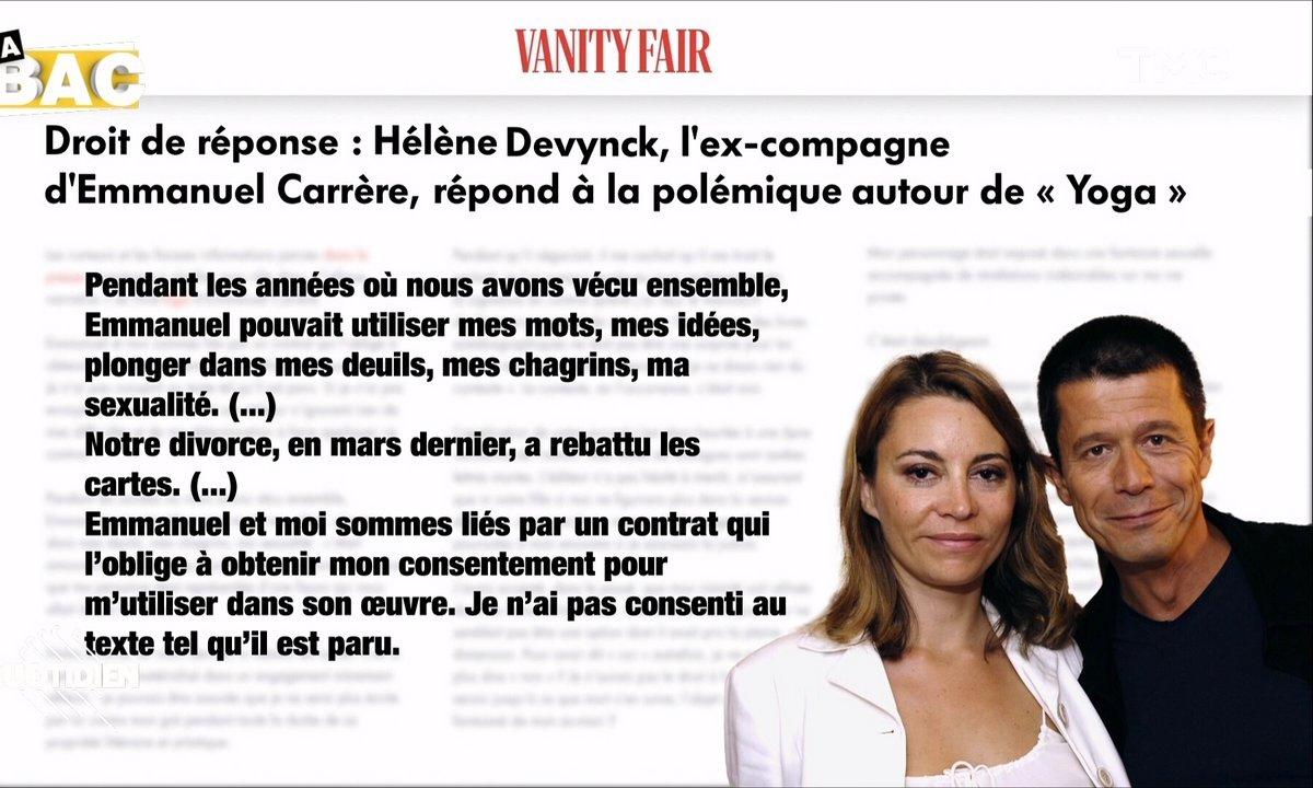 """La BAC – """"Yoga"""" : Hélène Devynck, ex-femme d'Emmanuel Carrère, dénonce une """"atteinte à la vie privée"""""""