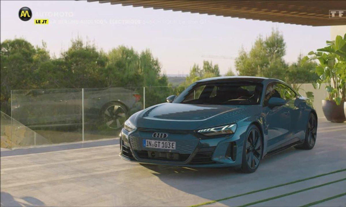 VIDEO - La berline Audi 100% électrique !