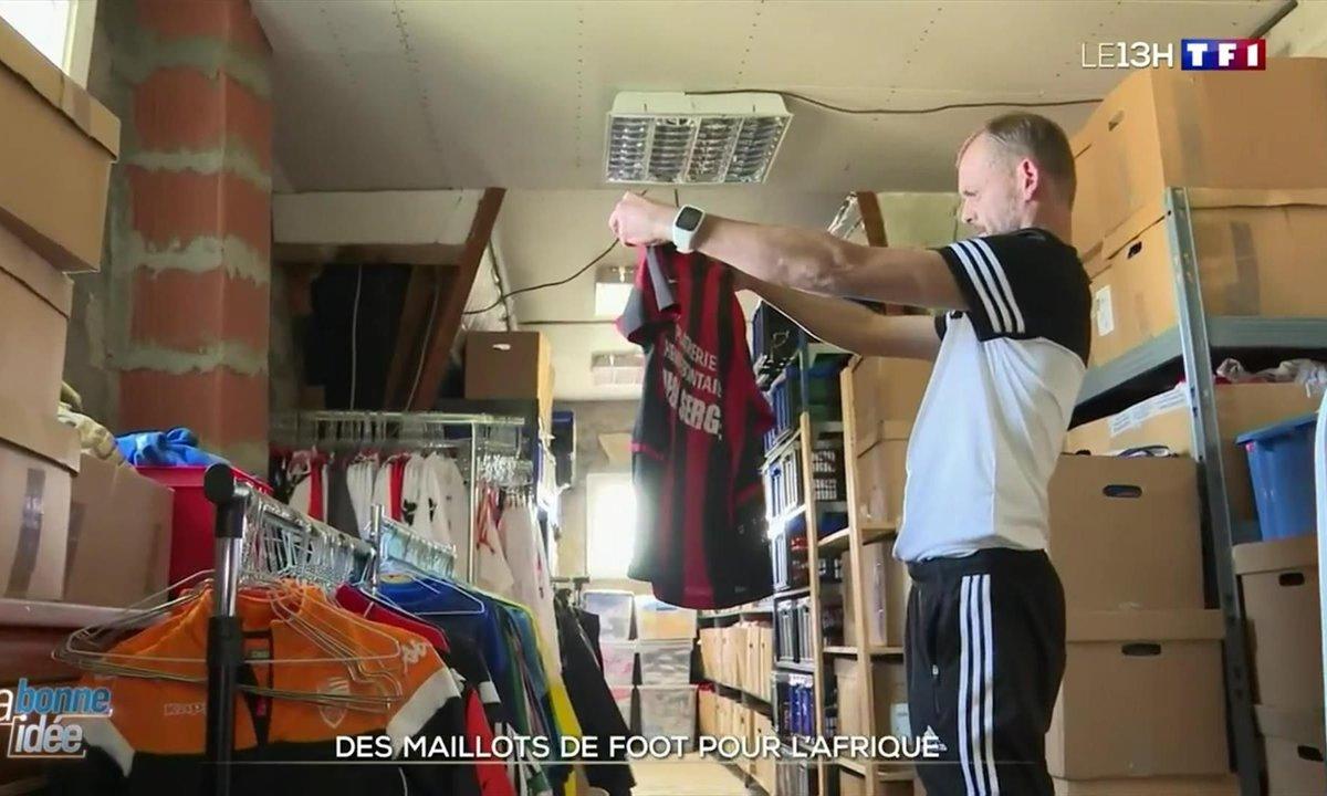 La bonne idée : des maillots de foot pour l'Afrique