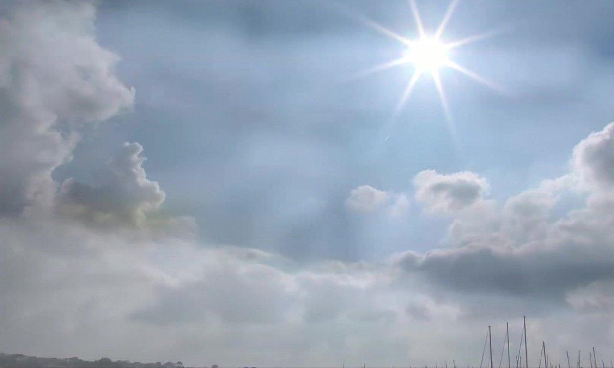 La Bretagne plus ensoleillée que la Côte d'Azur en avril