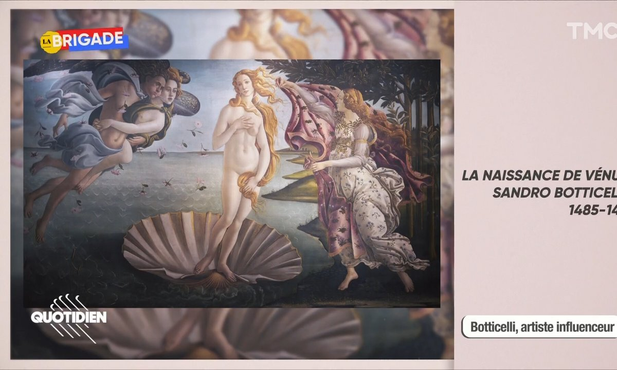 La Brigade : Botticelli, maître et businessman
