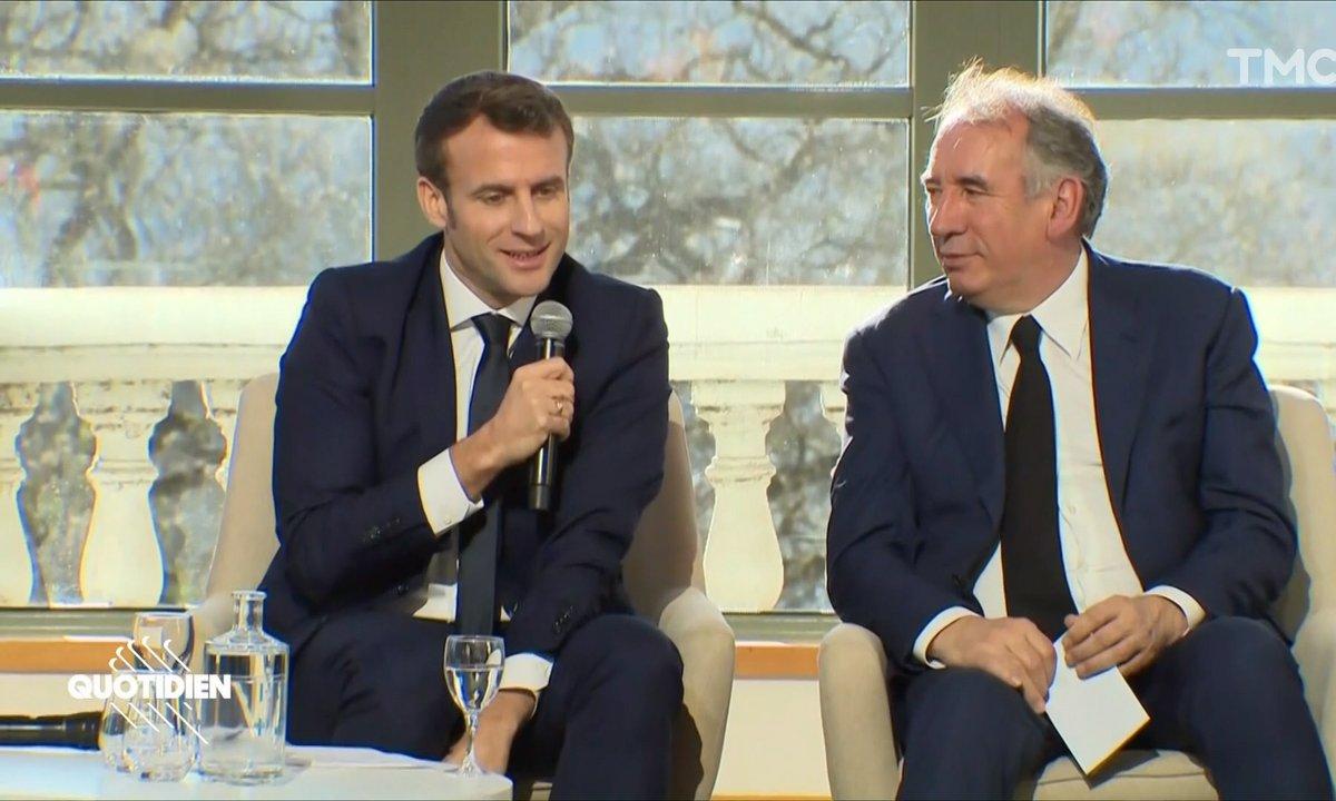 La bromance d'Emmanuel Macron et François Bayrou