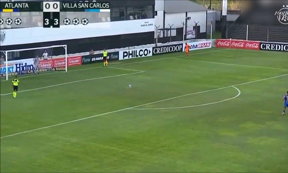 VIDEO – Une course d'élan de dingue pour tirer un penalty