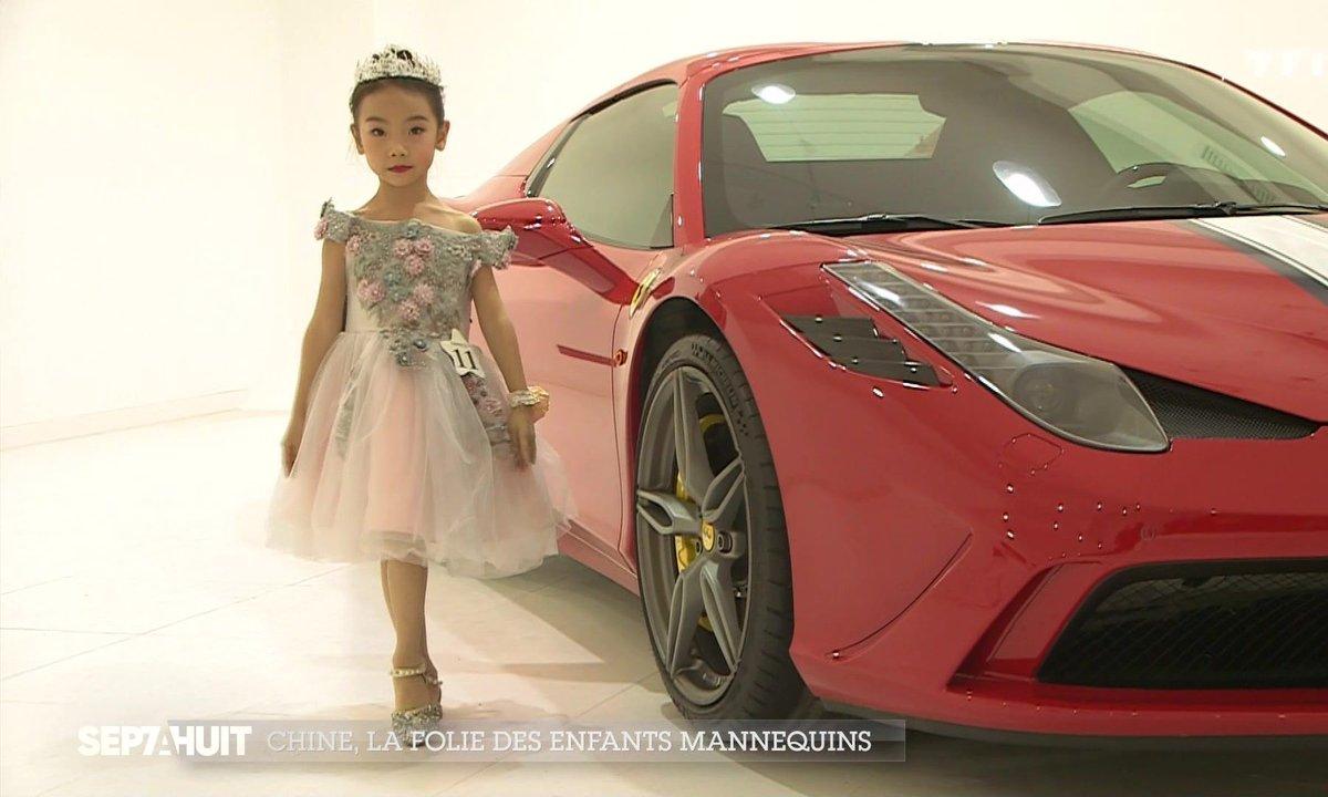 La folie des enfants mannequins en Chine