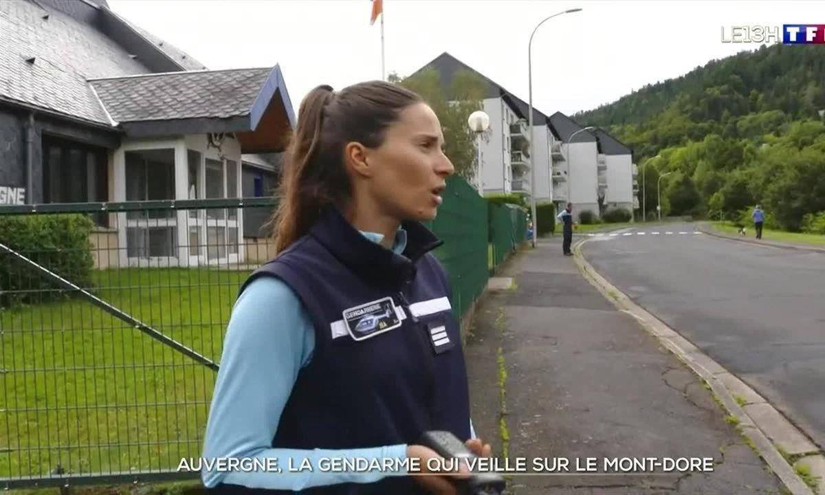 La gendarme qui veille sur le Mont-Dore