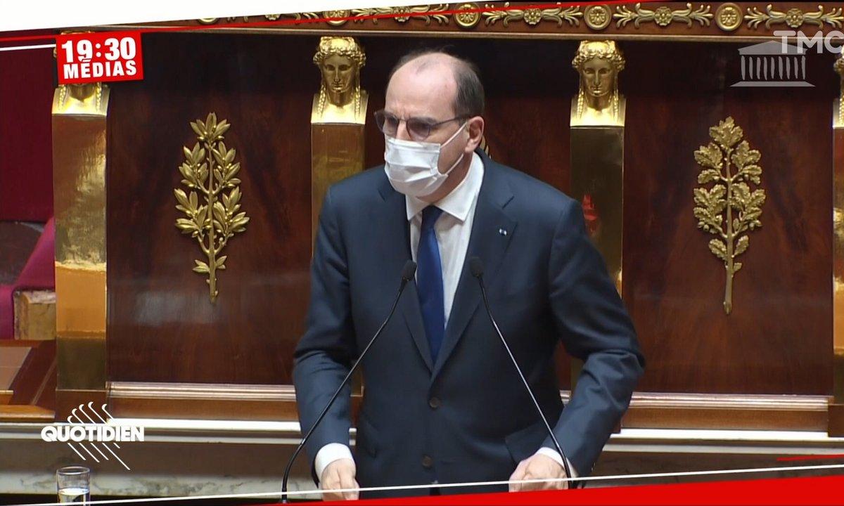 La grosse colère de Jean Castex à l'Assemblée nationale