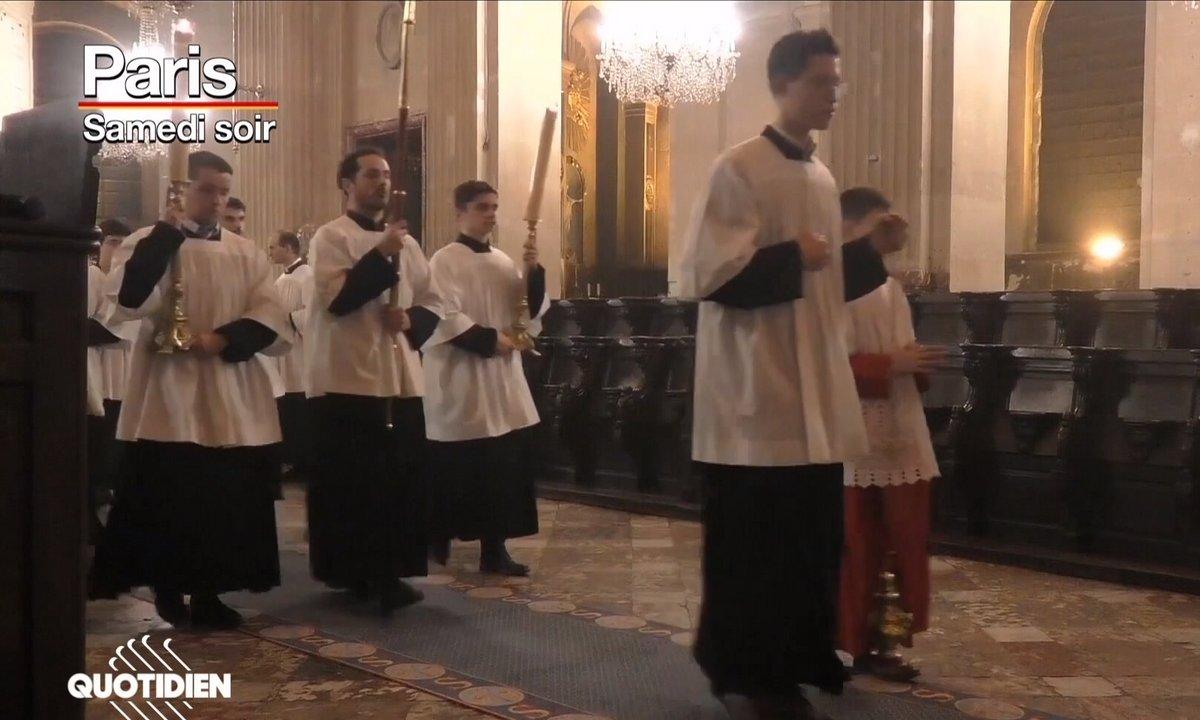La grosse fiesta du Covid à l'église Saint-Nicolas du Chardonnet