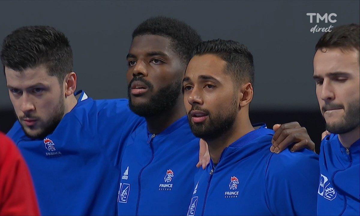 Mondial handball - Autriche / France : la Marseillaise en vidéo